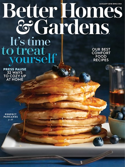 Better Homes & Gardens Cover - 1/1/2018