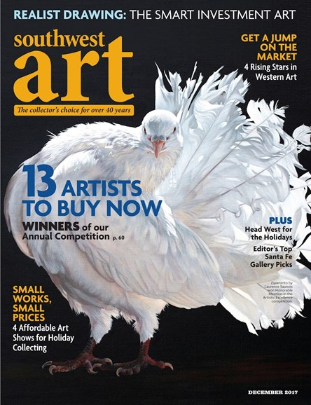 Southwest Art Cover - 12/1/2017