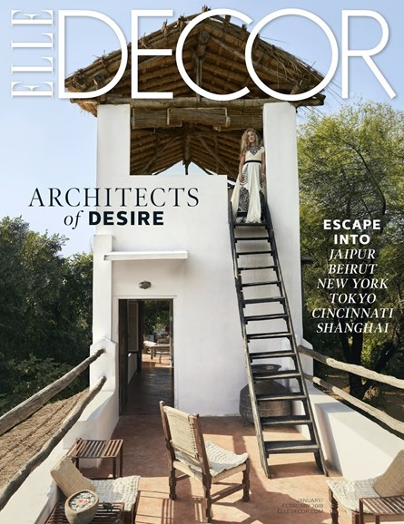 ELLE DECOR Cover - 1/1/2018