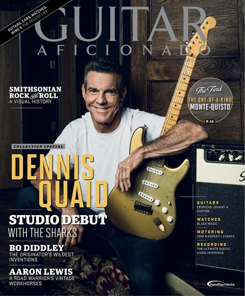 Guitar Aficionado Cover - 1/1/2018