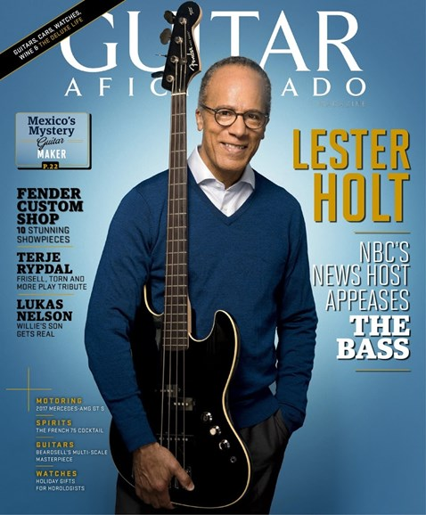 Guitar Aficionado Cover - 11/1/2017