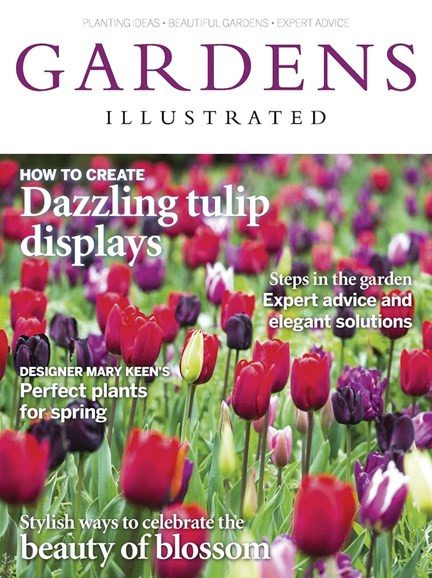 Gardens Illustrated Cover - 4/1/2017