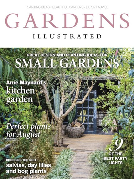 Gardens Illustrated Cover - 8/1/2016