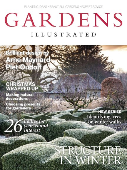 Gardens Illustrated Cover - 12/1/2017