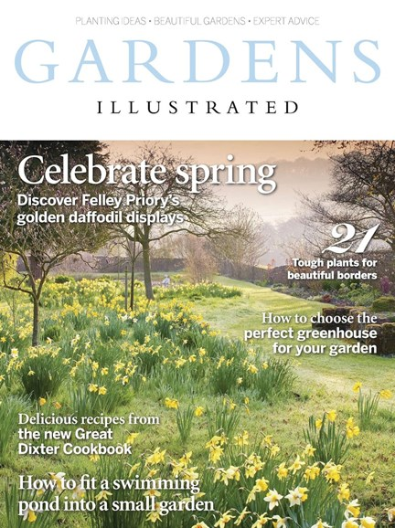 Gardens Illustrated Cover - 3/1/2017