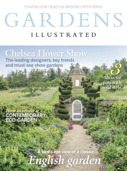 Gardens Illustrated Cover - 5/1/2017