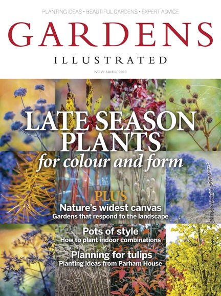 Gardens Illustrated Cover - 11/1/2017