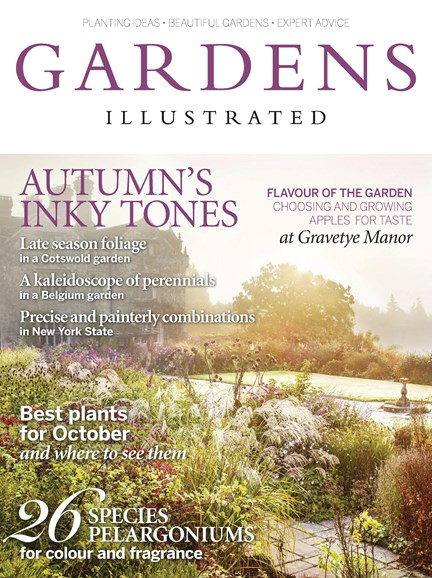 Gardens Illustrated Cover - 10/1/2017