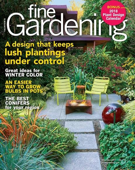 Fine Gardening Cover - 12/1/2017
