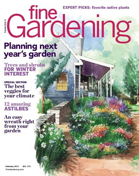 Fine Gardening Cover - 2/1/2017
