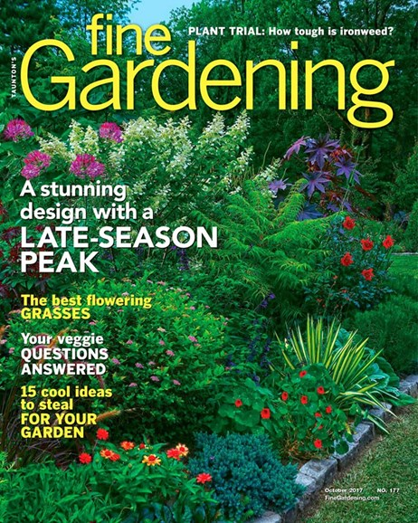 Fine Gardening Cover - 10/1/2017