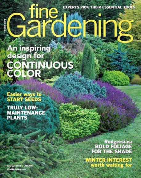 Fine Gardening Cover - 2/1/2018