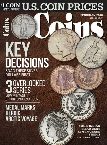 Coins Cover - 2/1/2018