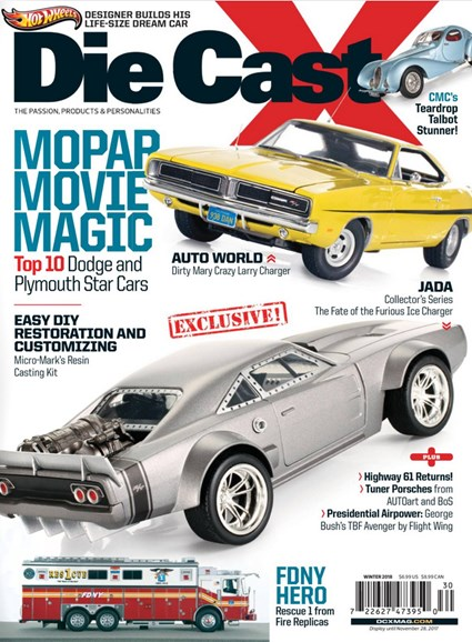 Diecast X Cover - 12/1/2017
