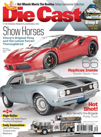 Diecast X Cover - 12/1/2016