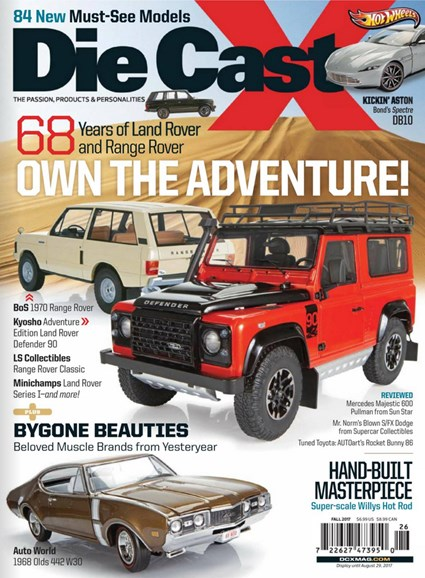 Diecast X Cover - 9/1/2017