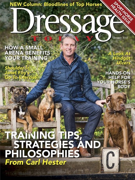 Dressage Today Cover - 1/1/2018