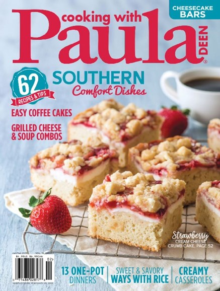 Cooking With Paula Deen Cover - 1/1/2018