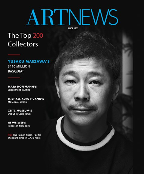 ARTnews Cover - 9/1/2017