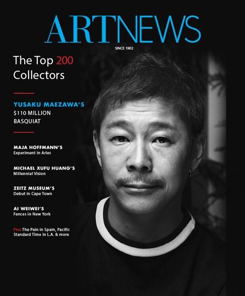 ARTnews Cover - 9/1/2017