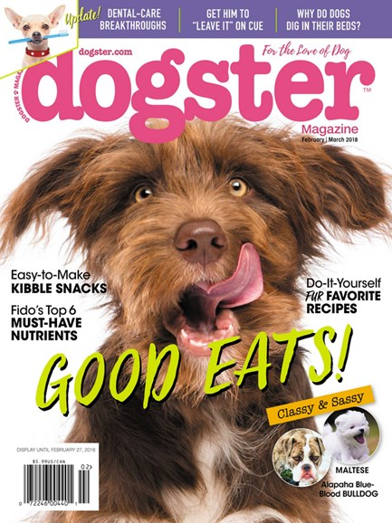 Dogster Cover - 2/1/2018