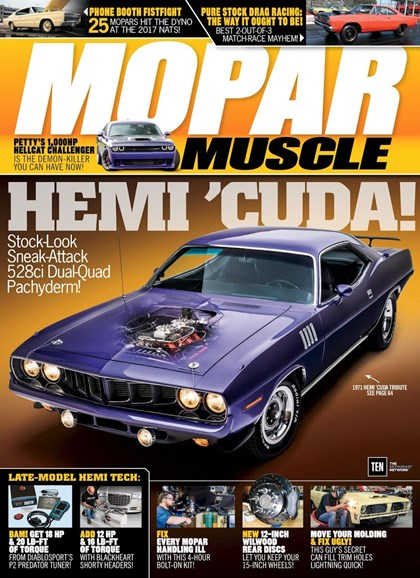 Mopar Muscle Cover - 3/1/2018