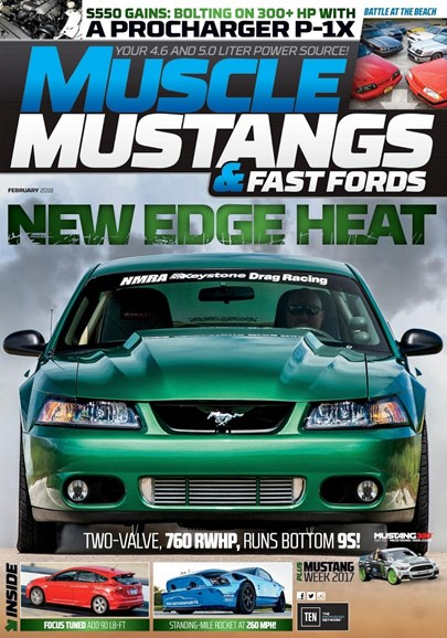 Muscle Mustangs & Fast Fords Cover - 2/1/2018