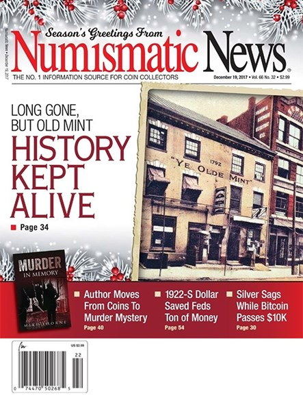 Numismatic News Cover - 12/19/2017