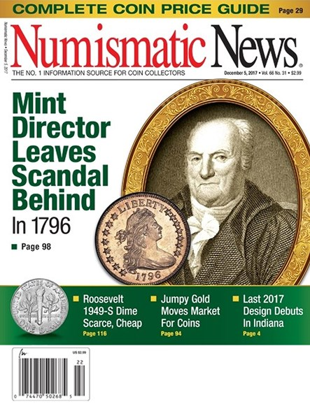 Numismatic News Cover - 12/5/2017