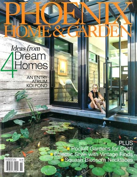 Phoenix Home & Garden Cover - 11/1/2017