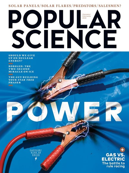 Popular Science Cover - 1/1/2018