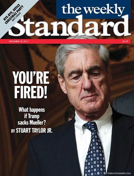 Washington Examiner Cover - 12/18/2017