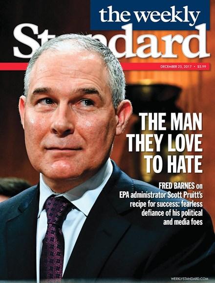 Washington Examiner Cover - 12/25/2017