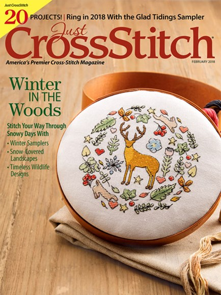 Just CrossStitch Cover - 2/1/2018