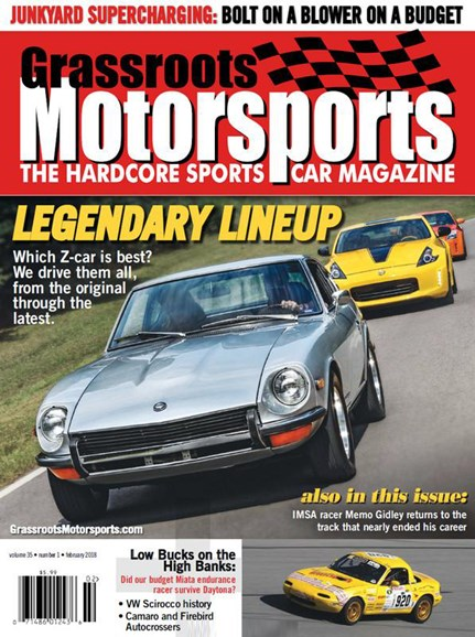Grassroots Motorsports Cover - 2/1/2018