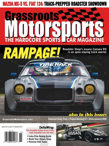 Grassroots Motorsports Cover - 11/1/2017