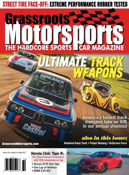 Grassroots Motorsports Cover - 10/1/2017