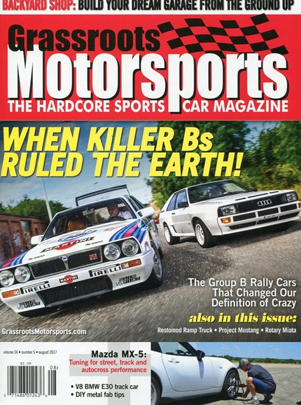 Grassroots Motorsports Cover - 8/1/2017