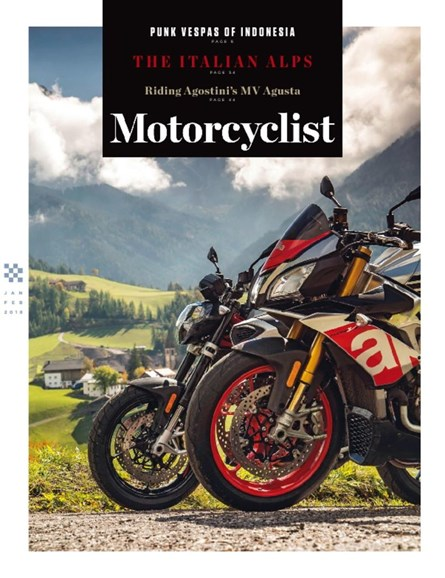 Motorcyclist Cover - 1/1/2018