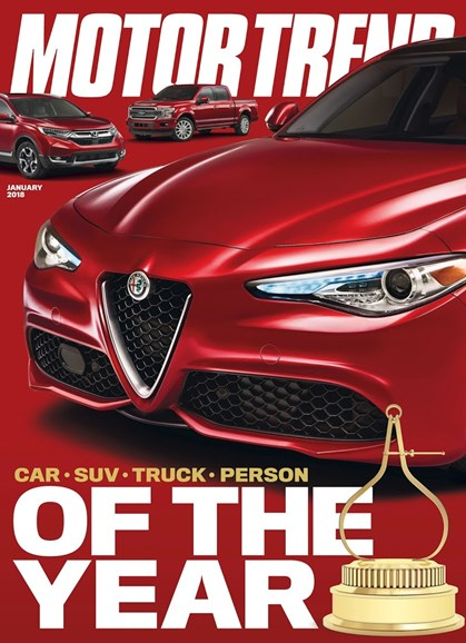Motor Trend Cover - 1/1/2018