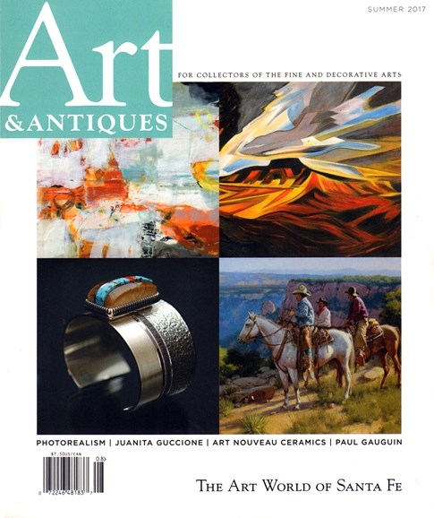 Art & Antiques Cover - 7/1/2017