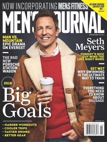 Men's Journal Cover - 1/1/2018