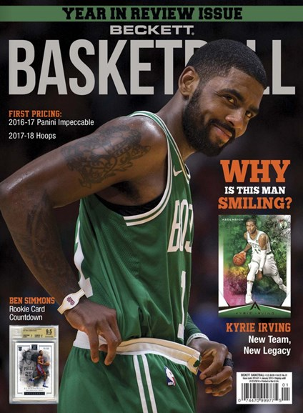 Beckett Basketball Cover - 1/1/2018