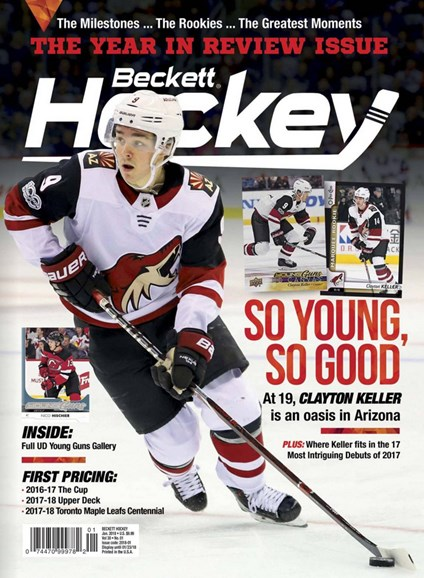 Beckett Hockey Cover - 1/1/2018