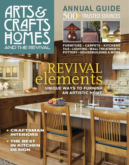 Arts & Crafts Homes Cover - 1/1/2018