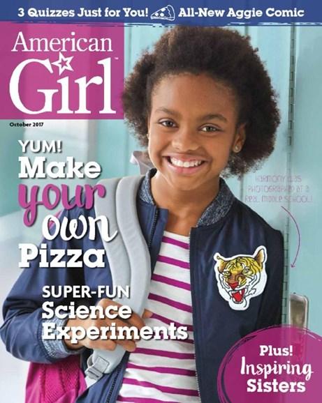 American Girl Cover - 9/1/2017