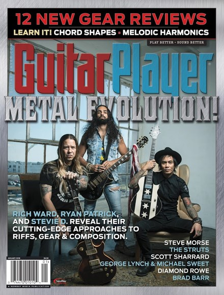 Guitar Player Cover - 1/1/2018