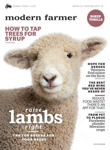 Modern Farmer Cover - 12/1/2017