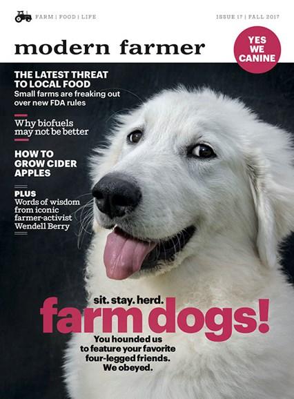 Modern Farmer Cover - 9/1/2017