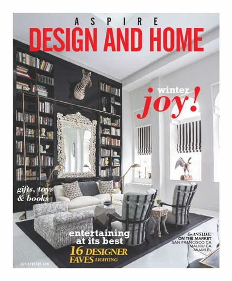 Aspire Design and Home Cover - 12/1/2016